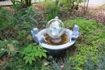 fairy birdbath